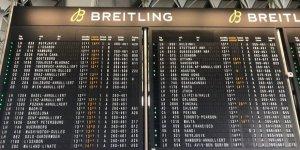 Frankfurt Havaalanı'nda 50 uçak seferi durduruldu