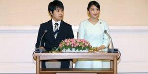 Japon prensesin düğünü parasızlıktan ertelenebilir