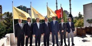 Tacikistan Büyükelçisi Rajabiyon Başkan Altay'ı Ziyaret Etti