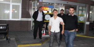 Hırsızlar gazetecilere el salladı