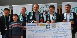 Atiker Konyaspor'dan anlamlı bağış