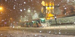 Konya Merkezde Okullara Kar Tatili