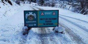 Kuşyuvası-Çatak Yolu ulaşıma açıldı