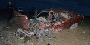 Otomobil ile cip çarpıştı: 5 yaralı
