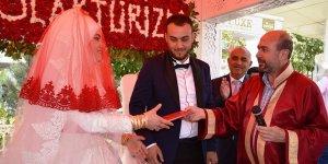 Selçuklu'da 2018'de 4 bin 229 çiftin nikahı kıyıldı
