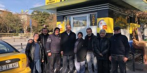 Başkan Altay'dan esnaf ziyareti