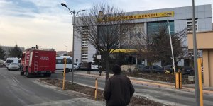 Konya'da PTT'de koli patladı