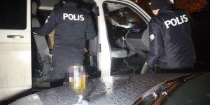 Konya'da polisten kaçan alkollü sürücüye büyük ceza