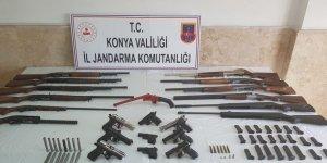 Jandarma'dan kaçak silah operasyonu
