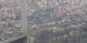 15 Temmuz Şehitler Köprüsü'nde şüpheli paket alarmı