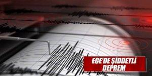 Kütahya Çanakkale'deki Deprem Eskişehir, Bilecik ve Kütahya'da da Hissedildi