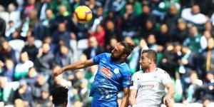 Konyaspor kötü oynayarak kaybetti