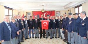 Başkan Altay'dan Gazilere ve Şehit Ailelerine Ziyaret