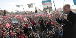 """Cumhurbaşkanı Erdoğan: """"Milletimize yanlış yapan kimse bizim dünyamızda doğru olarak kalamaz"""""""
