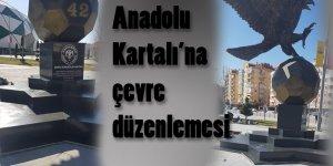 Anadolu Kartalı Anıtı'na son rötuş