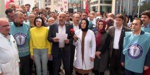 Konya'da Sağlık Çalışanına Şiddete Tepki