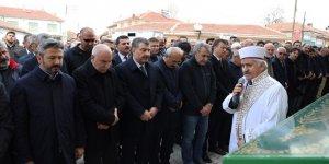 Sağlık Bakanı Koca, Ağralı'nın cenazesine katıldı