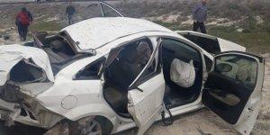 Konya'da feci kaza: 2 yaralı