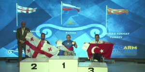 Konyalı sporcu Avrupa üçüncüsü oldu