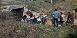 Konya'da Otomobil Köprüden Düştü: 6 Yaralı