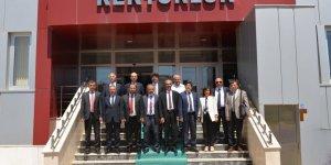 Rektörler KMÜ'de buluştu