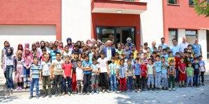 Başkan Kavuş, Meram Yaz Kursları'nı ziyaret etti