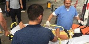 Konya'da kamyonetle otomobil çarpıştı: 8 yaralı