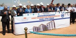 Ahmet Keleşoğlu Diş Hekimliği  Fakültesi yeni hizmet binası temeli atıldı