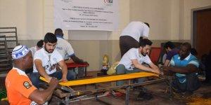 Nijerli Gençler Ve Tika Gönüllüleri El Sanatları Atölyesinde Buluştu