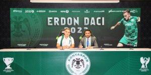 Konyaspor Erdon Daci'nin sözleşmesini uzattı