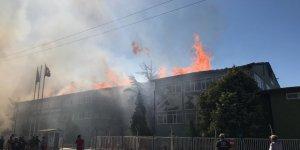 Huğlu'daki silah fabrikasında büyük yangın