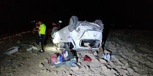 Kazada yaralanan bebek kurtarılamadı