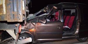 Konya'da Trafik Kazası: 1 Ölü, 1 Yaralı