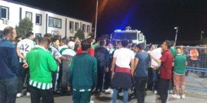 İzmir'de Konyaspor taraftarına zorluk çıkarıldı