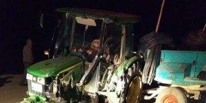 Konya'da Kamyon, Park Halindeki Traktöre Çarptı: 1 Ölü, 2 Yaralı