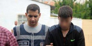 Çeyizlik ev eşyası çalan hırsızlık şüphelisi polisten kaçamadı