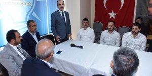 Başkan Altay Çeltik ve Yunak'ta vatandaşlarla buluştu