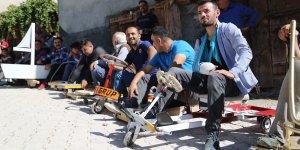 Konya'da Bilyeli Arabalar Yarıştı