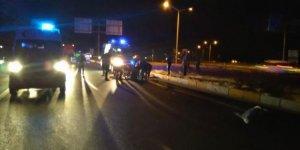 Konya'da otomobil motosikletle çarpıştı: 2 ölü