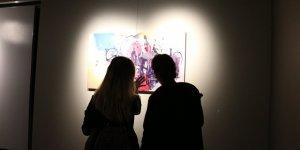 MEDAŞ Sanat Galerisi'nde 'Soyut İzler' resim sergisi