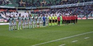 Konyaspor-Gençlerbirliği karşılaşması başladı