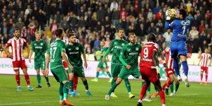 Sivasspor-Konyaspor: 2-0