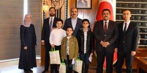 Başkan Altay Askerlerimize Mektup Yazan Öğrencilerle Buluştu