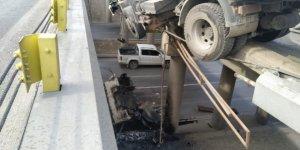 Konya'da akıl almaz kaza!