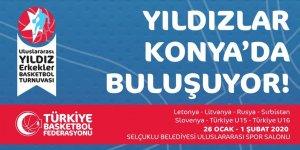 Uluslararası Yıldız Erkekler Basketbol Turnuvası Heyecanı Konya'da yaşanacak