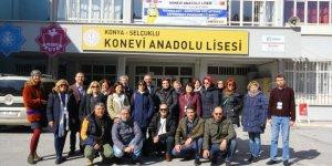 Konya'da uluslararası proje