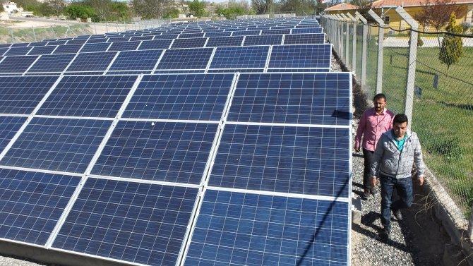Arıtma tesisi enerjisini güneşten alacak