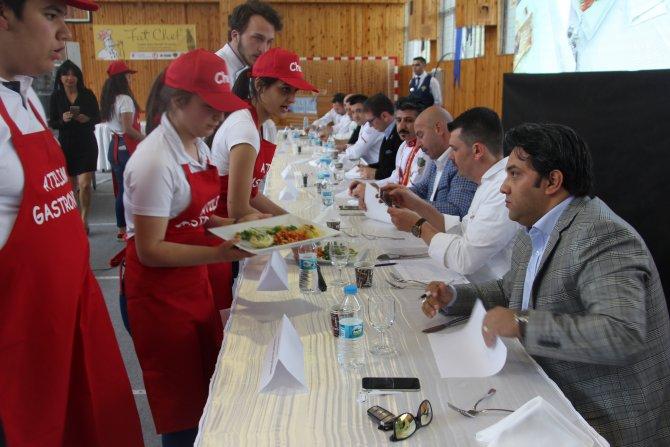 """Atılım Üniversitesinde """"Liseler Arası Yemek Yarışması"""""""