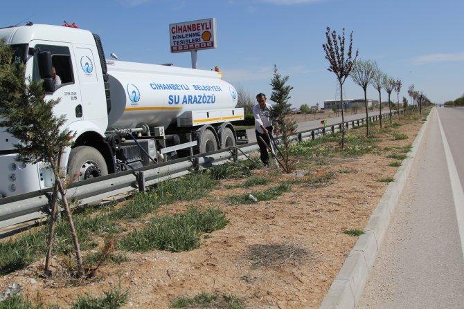Cihanbeyli Belediyesinden bahar temizliği