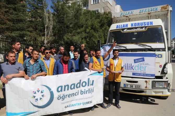 Gaziantep'ten Diyarbakır'daki çocuklara oyuncak yardımı